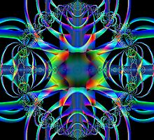 Fractal for People Who Love SiFi by Roberta  Barnes