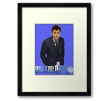 Doctor Who-Ten Framed Print