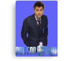 Doctor Who-Ten Canvas Print