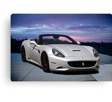2011 Ferrari California '3Q Pass Side' Canvas Print