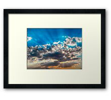 ©HCS Sunshine In HDR IA. Framed Print