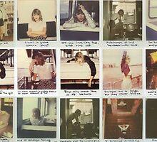 Taylor Swift Polaroid Collection by rainingretro