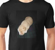 Wendy the Yellow Lab Mix Puppy Napping Unisex T-Shirt