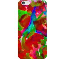 Red Mess iPhone Case/Skin
