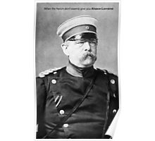 Bismarck's Pissed Poster