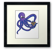 Puzzled Framed Print