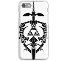 Legend Of Zelda: Sword and Shield  iPhone Case/Skin