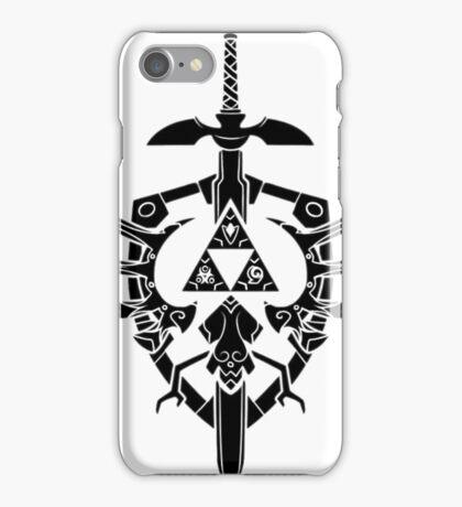 Legend Of Zelda: Sword and Shield  iPhone Case/Skin
