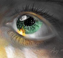 Space Eye by burningdesire