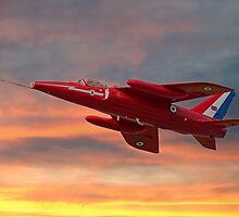 Red Arrows - Folland Gnat by © Steve H Clark Photography