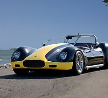 1956 Lister-Corvette 'Oceanside' by DaveKoontz