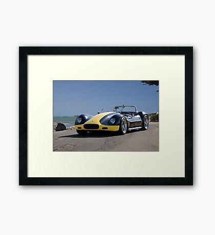 1956 Lister-Corvette 'Oceanside' Framed Print