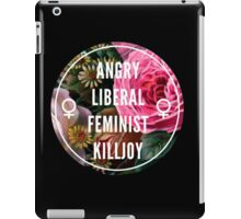 Angry Liberal Feminist Killjoy iPad Case/Skin