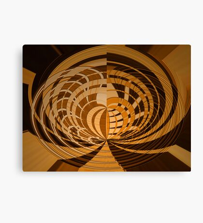 Woodcut(2) Canvas Print