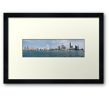 Dubai Creek,  United Arab Emirates Framed Print