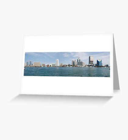 Dubai Creek,  United Arab Emirates Greeting Card