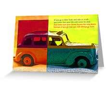 cabbie Greeting Card