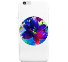 sd Flower Lily watercolor 2G iPhone Case/Skin