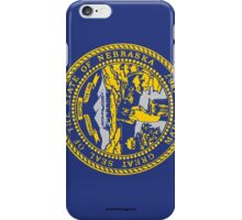 Nebraska State Flag iPhone Case/Skin