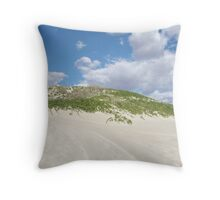Oyster Bridge Dunes, Coral Bay, Western Australia Throw Pillow