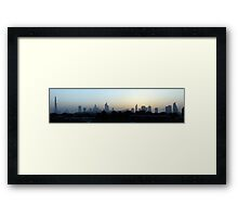 Dubai,  United Arab Emirates Framed Print