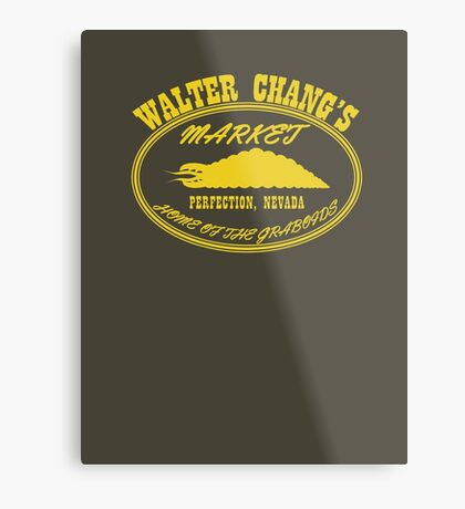 Chang's Market - Perfection, Nevada Metal Print