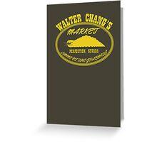 Chang's Market - Perfection, Nevada Greeting Card