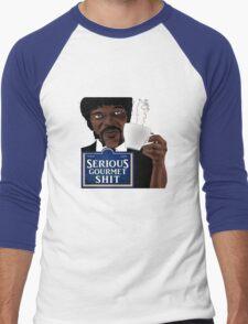 Serious Gourmet Shit Men's Baseball ¾ T-Shirt