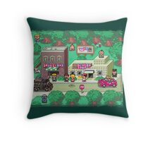 Earthbound Town Throw Pillow