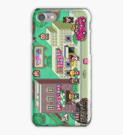 Earthbound Town iPhone Case/Skin