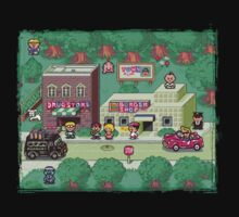 Earthbound Town Kids Tee