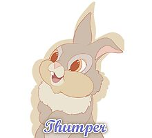 Thumper Photographic Print