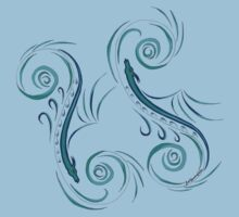 Mystical Sea Serpent T-Shirt
