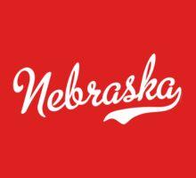 Nebraska Script White by USAswagg2