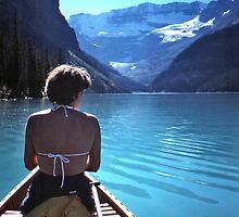On Lake Louise, 1981 by Bob Gaffney