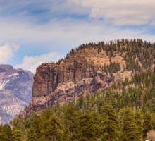 Colorado Western Landscape Sticker