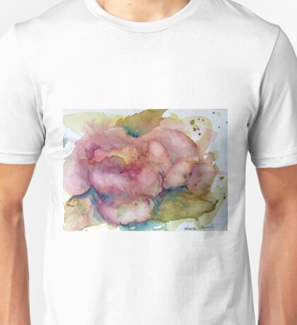 Fire in the Rose Unisex T-Shirt