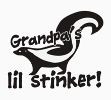 Little sticker grandbaby humor One Piece - Short Sleeve
