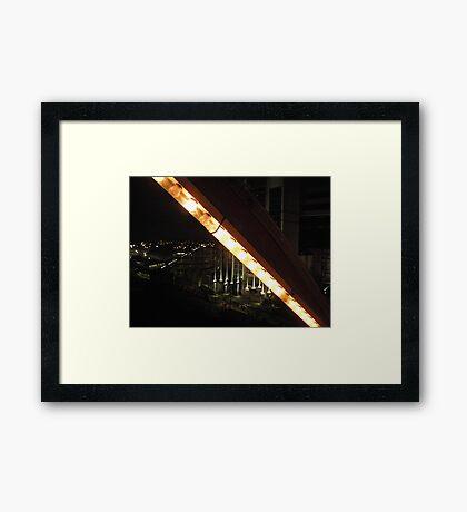 ferris. Framed Print