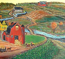 Old Mill Farm by KenLePoidevin
