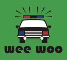 Police- Wee Woo Kids Clothes
