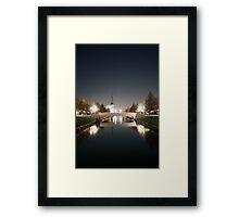 New Town Framed Print