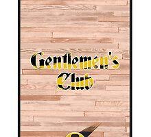 Gentlemen's Club - Phone case by Anders Andersen