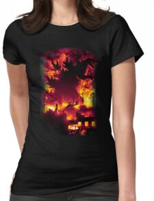 Oh No, There Goes Tokyo Womens Fitted T-Shirt