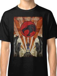 Thundercats - Art Deco Style Classic T-Shirt