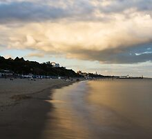Bournemouth Pier at Sunset by Ian Middleton