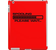 Turbo Spooling iPad Case/Skin