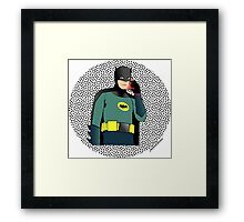 60's Batman Framed Print