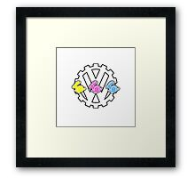 3 Little Rabbits - By SUMO Framed Print