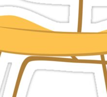 Ray & Charles Eames Chair Classic Design Sticker